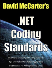 David McCarter's .NET Coding Standards