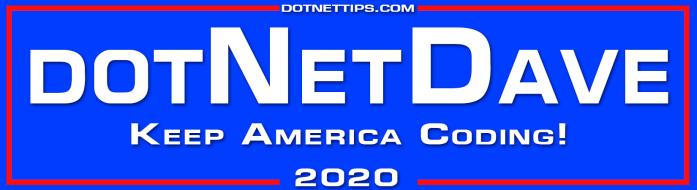 dotNetDave 2020@0.5x