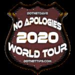 2020 - No Applogies Tour1@0.5x