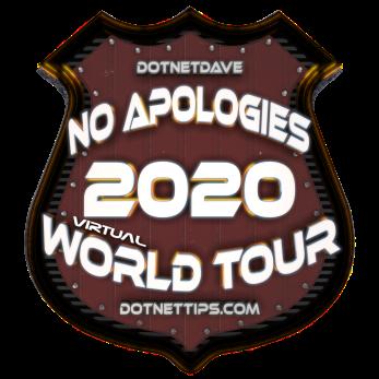 2020 - No Apologies Tour-Virtual@0.5x