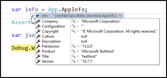 DOTNETTIPS-NUGET-APPINFO